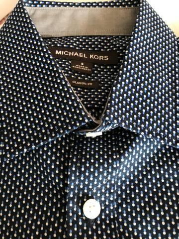 Camisa Social Michael Kors ( Original Nova ) - Foto 2