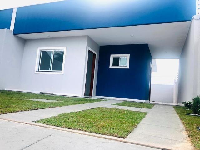 WS casa nova casa com 2 quartos, 2 banheiros em condominio