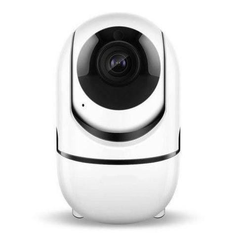 Câmera Ip Wifi Varredura Automática HD 960p Com Áudio Entrada Cartão 64gb