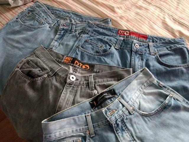 Troco calças originais masculina - Foto 5
