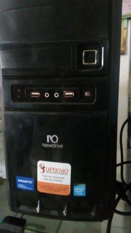 CPU, Monitor, Teclado, Mouse, Estabilizador - Foto 3