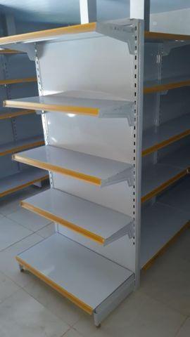 Prateleiras para supermercados / comércio em geral - montagem completa - faça sua cotação - Foto 3