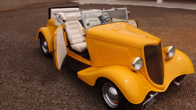 Hot Rod rodster V8 Carangas Garage - Foto 6