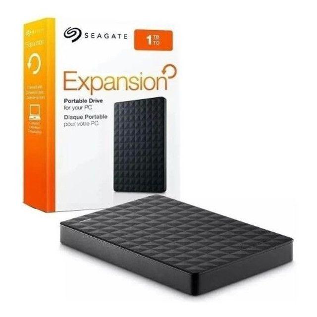 HD Externo de 1TB 1 TB de 389 por 289,00. Marca Seagate Expansion, Modelo STEA 100400