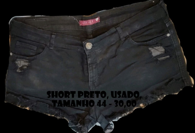 Shorts e Minisaia Diversos - confira os tamanhos - Foto 3
