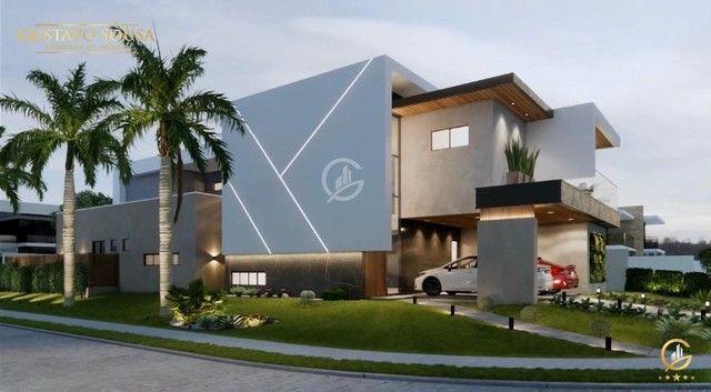 Belíssimo projeto  em um terreno de esquina privilegiado! Condomínio Alphaville Fortaleza - Foto 2