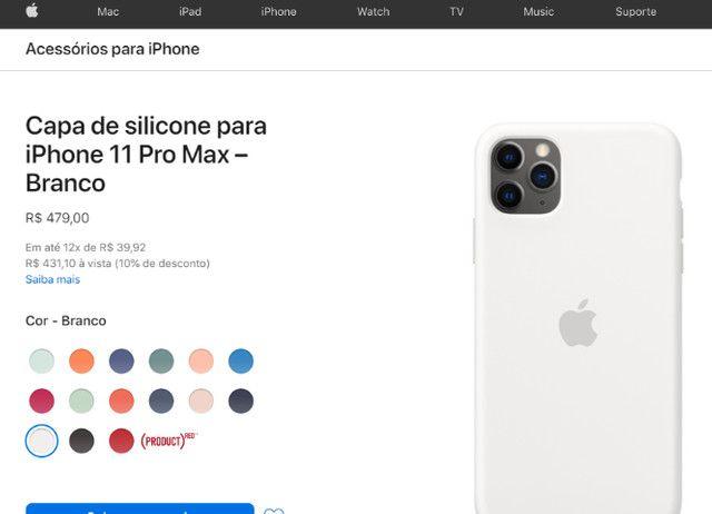Acessórios para iPhone - Cases Original iPhone 11 Pro Max - Foto 6