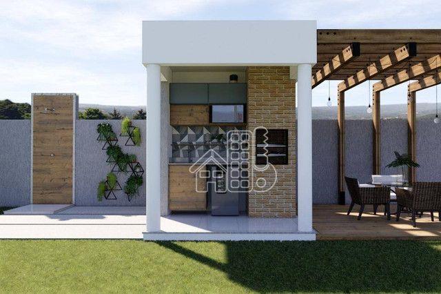 Casa com 3 dormitórios à venda, 100 m² por R$ 495.000,00 - Jardim Atlântico Leste (Itaipua - Foto 17