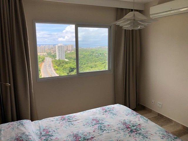 Aluguel Apartamento 180m², Nascente, 3 Suítes, Decorado e Mobiliado, em Patamares, Salvado - Foto 20