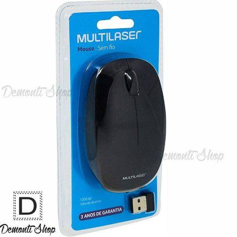 Mouse Sem Fio Multilaser Mo251 2.4 Ghz 1200 Dpi Usb - Foto 4