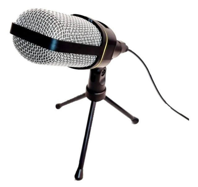 Microfone Condensador Multimídia Mic-8641 Youtuber Vozes