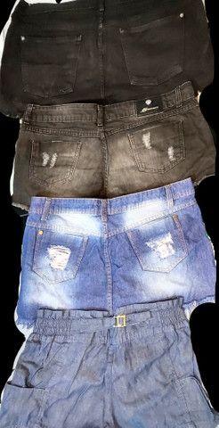 Shorts e Minisaia Diversos - confira os tamanhos - Foto 2