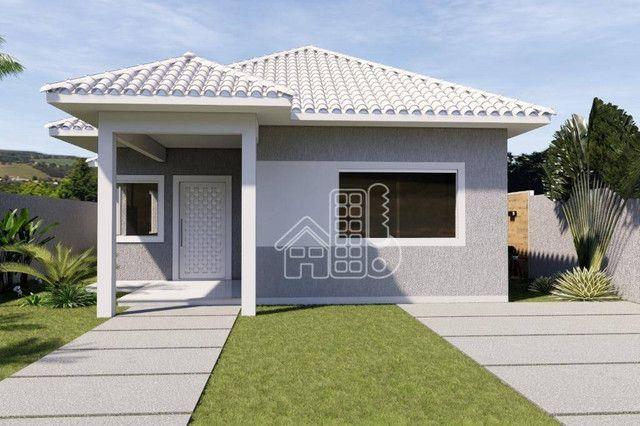 Casa com 3 dormitórios à venda, 100 m² por R$ 495.000,00 - Jardim Atlântico Leste (Itaipua - Foto 10