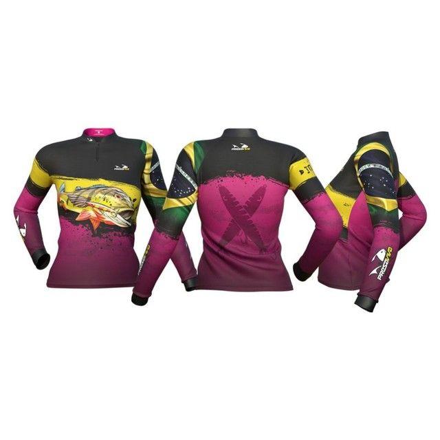Kit igual 3 camisetas de Pesca Família para comprar leia a descrição do anúncio. - Foto 3