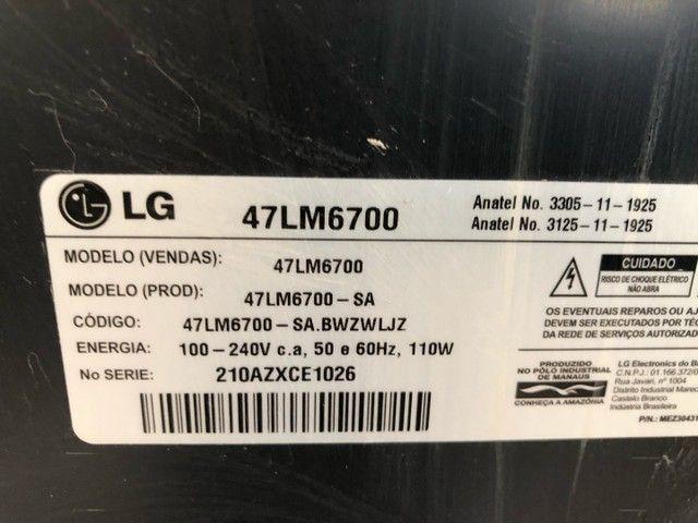 TV LG 47LM6700  - Foto 3