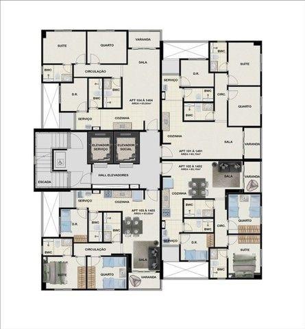 Bosque da Tamarineira - Lançamento 03 quartos com 63m² - Foto 8