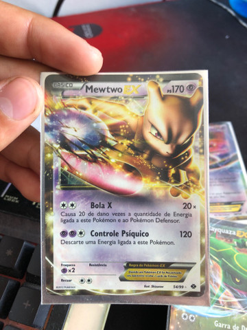 Carta Mewtwo Ex NOVA