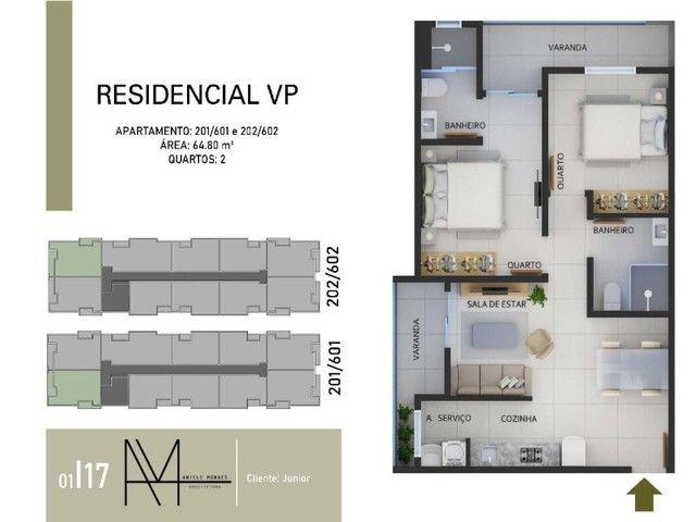 LANÇAMENTO: 12 Apartamentos Novos com Pagamento Facilitado. 2 e 3 Quartos em Vicente Pires