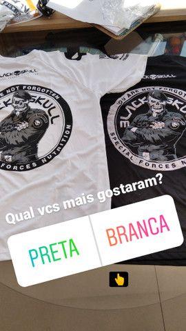Camisas Black skull ( branca ) ( preta) novas