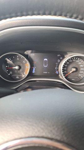 Vendo jeep compass longe tudo,tração 4×4 diesel,seminovo,na garantia - Foto 2