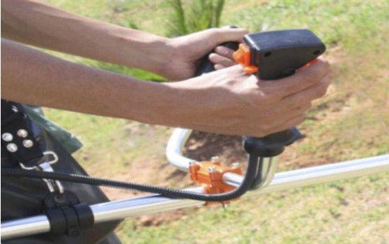 Roçadeira SH 52cc-Jardim Maq Vendas de Motosserras, Peças, Manutenção - Foto 3