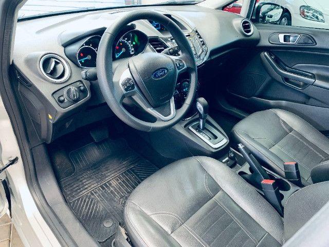 Ford / New Fiesta Titanium Hatch 1.6 Flex (Automático + Couro) - Foto 6