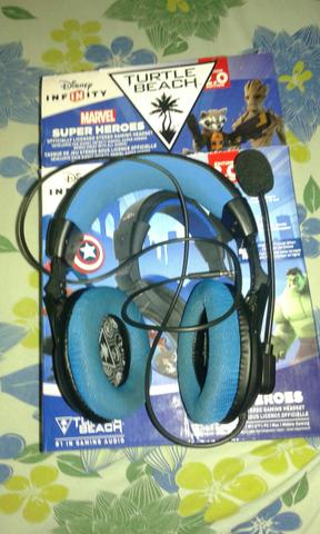 Headset turtle beach para xbox 360 ps4 e pc
