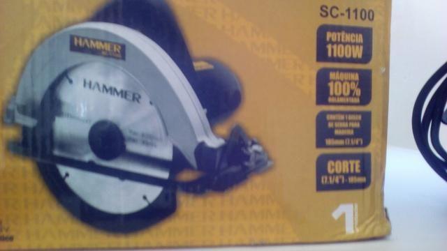 Serra profissional Hammer 1100w