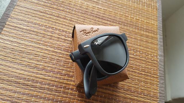 831373547 Óculos Ray ban wayfarer dobrável preto - Bijouterias, relógios e ...