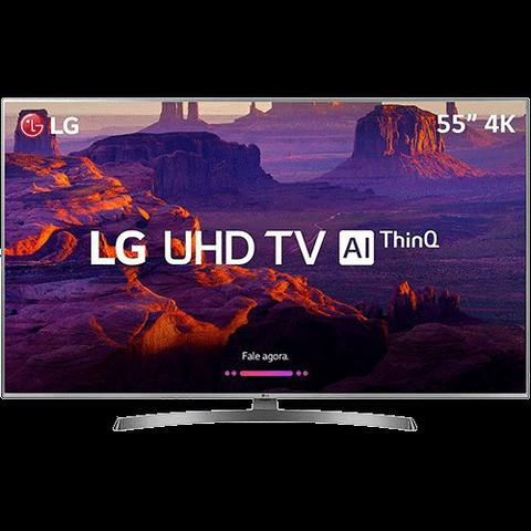 Smart tv LG 55 4K full HD + 4 anos de garantia