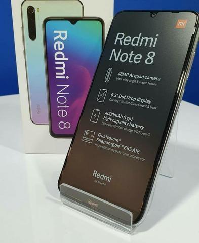 Xiaomi Redmi Note 8 64/4gb Com 6 Meses De Garantia Azul-Preto - Foto 3