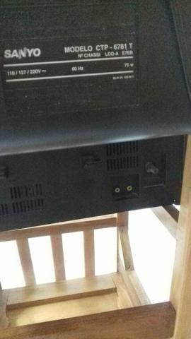 TV de tubo Sanyo 20 polegadas - Foto 5