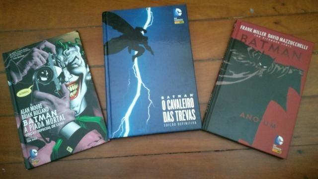 Livros - kit Batman