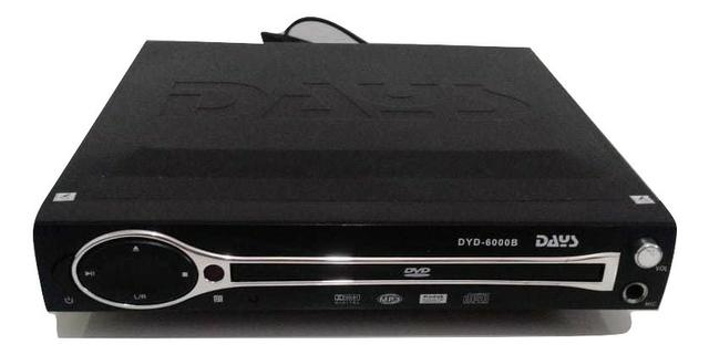 Dvd Player Days S/ Controle