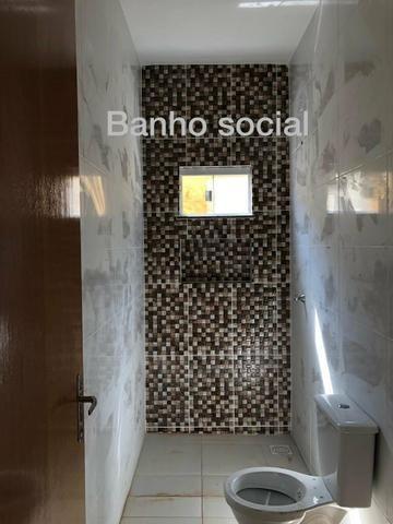 Casa 2 Quartos, entrada baixa, Itaipu - Goiânia - Foto 9