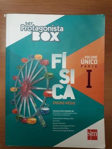 Box com 5 livros de física