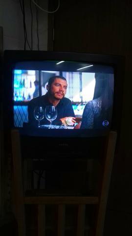 TV de tubo Sanyo 20 polegadas - Foto 3