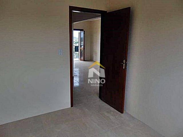 Apartamento com 2 dormitórios para alugar, 53 m² por r$ 1.000,00/mês - são vicente - grava - Foto 8