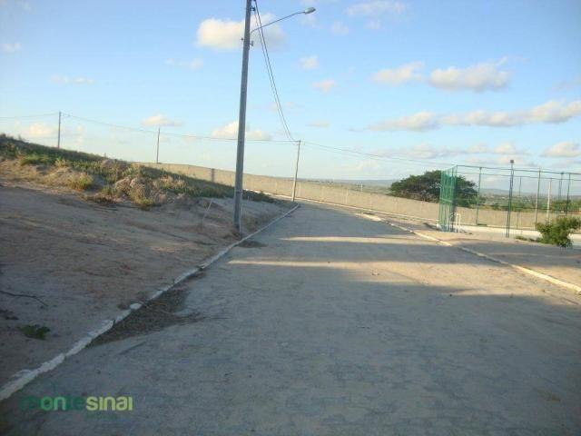 Terreno à venda, 367 m² por R$ 57.000,00 - Condomínio Privê Portal do Agreste - São João/P - Foto 4