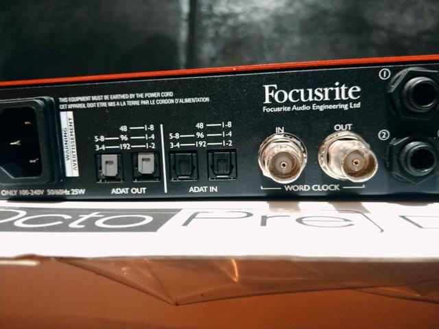 Pre/Amplificador Focusrite - dynamic - Foto 2