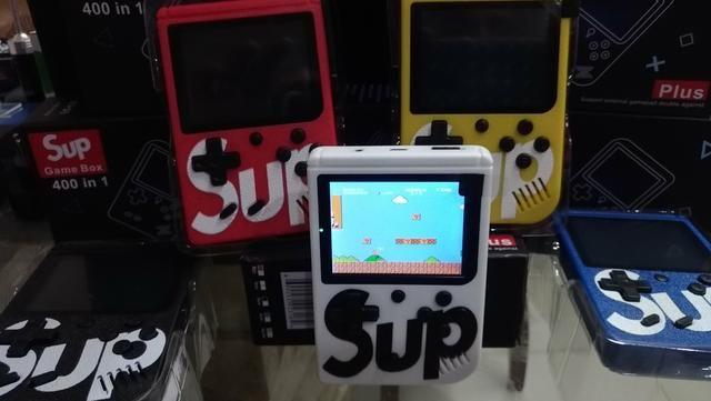 SUP 400 em 1 - Vídeo Game Portátil 400 jogos internos . Mini Game SUP Game Box Plus - Foto 4