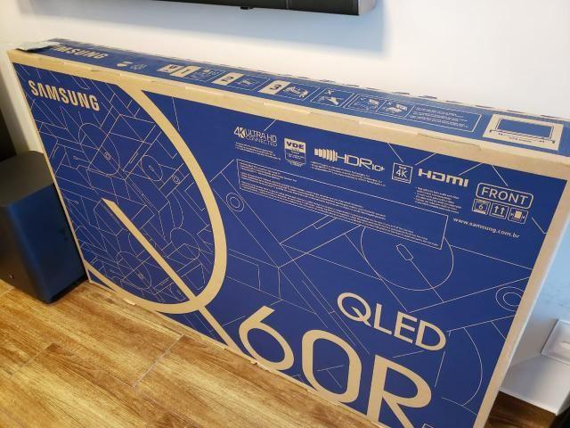 Samsung smart TV 55? QLED60, lacrada, NF, completo