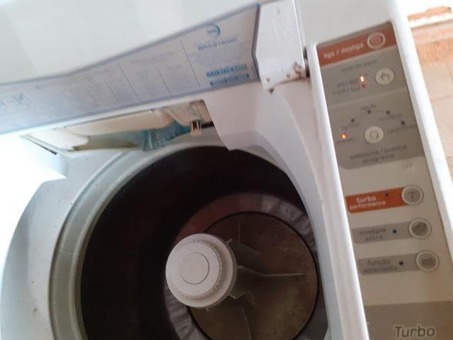 Vendo máquina de lavar Brastemp 10kg* defeito - Foto 5