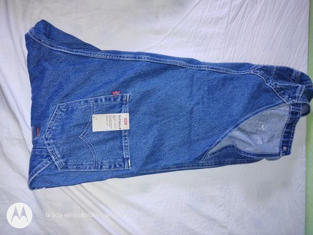 Jaqueta e Macacão Jeans Levi's Masculino Original