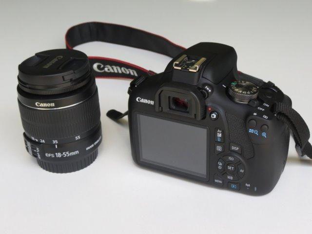 Câmera Dslr Canon T7 EOS Rebel com lente EF-S 18-55 + Assessórios - Foto 3