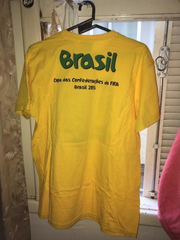 Camiseta Copa das Confederações 2013 - Foto 2