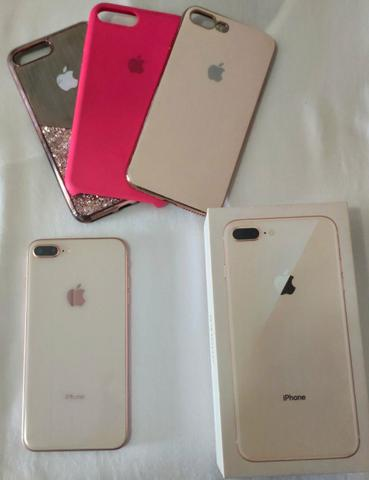 IPhone 8 Plus Rose 64 GB (5 meses de uso)