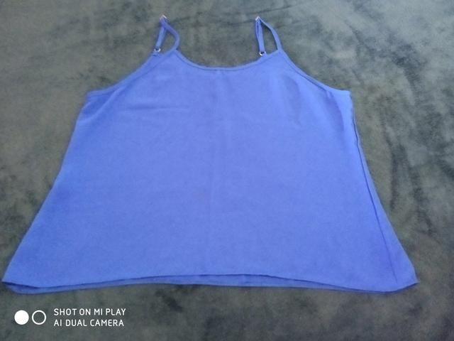 Blusas de tecido fino - Foto 2