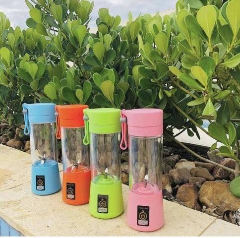 Entrega Grátis Mini Liquidificador Portatil Recarregavel Juice Cup + Usb