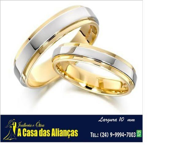 Bodas de Prata e de Ouro - Alianças em Promoção - Foto 3